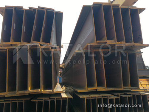 EN10025 S235JR H beam steel