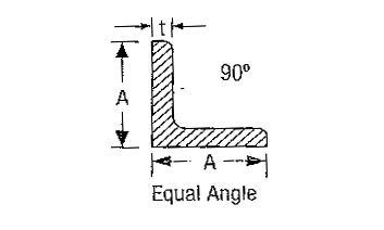 Equal Angles Specification Size